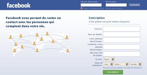 facebook login france connexion et inscription au r seau social fb. Black Bedroom Furniture Sets. Home Design Ideas